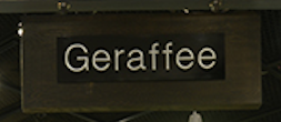 GERAFFEE