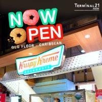 Now open Krispy Kreme