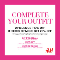 H&M แคมเปญ Complete your outfit
