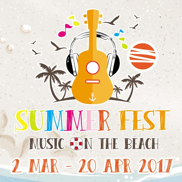 Summer Fest 2017.. Music on the Beach