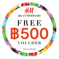H&M Celebrates its 5th