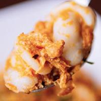ข้าวปลาหมึกผัดผงกะหรี่ ร้านครัวไทย