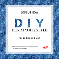 H&M DIY Denim Your Style
