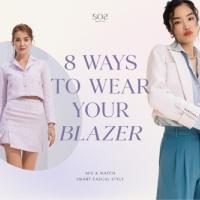 8 Ways to Wear Your Blazer