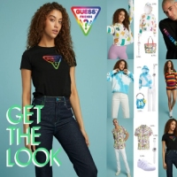 Get The Look with GUESS x FriendsWithYou